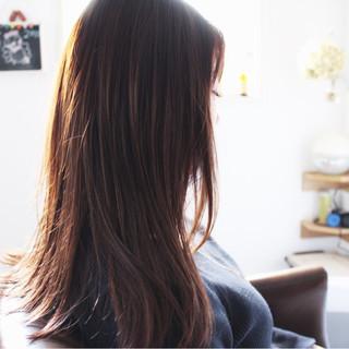 アッシュ フェミニン モーブ ピンク ヘアスタイルや髪型の写真・画像