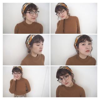 簡単ヘアアレンジ ヘアアレンジ ショート ヘアアクセ ヘアスタイルや髪型の写真・画像