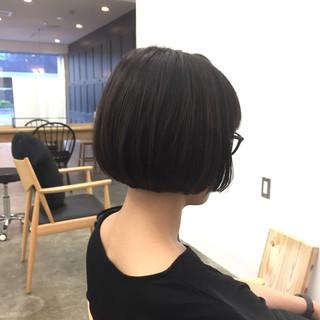 まとまるボブ モテボブ ボブ ショートボブ ヘアスタイルや髪型の写真・画像