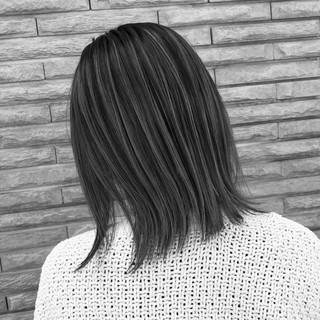 ミディアム 成人式 デート バレイヤージュ ヘアスタイルや髪型の写真・画像