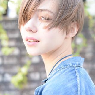 ボブ 外国人風 前髪あり 大人かわいい ヘアスタイルや髪型の写真・画像