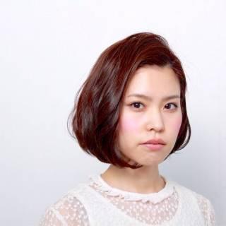 モテ髪 ショート ボブ ナチュラル ヘアスタイルや髪型の写真・画像