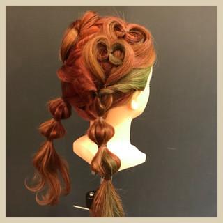 ツインテール 子供 ママ ヘアアレンジ ヘアスタイルや髪型の写真・画像 ヘアスタイルや髪型の写真・画像