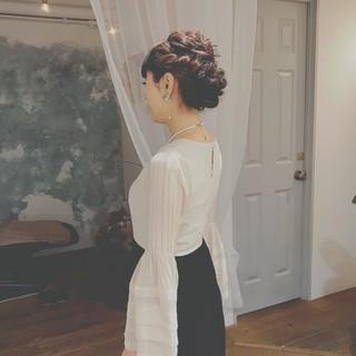 パーティ デート ロング 大人かわいい ヘアスタイルや髪型の写真・画像