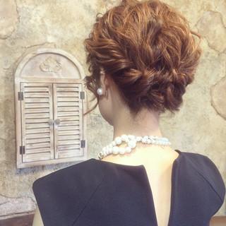 ヘアアレンジ 外国人風 ゆるふわ パーティ ヘアスタイルや髪型の写真・画像
