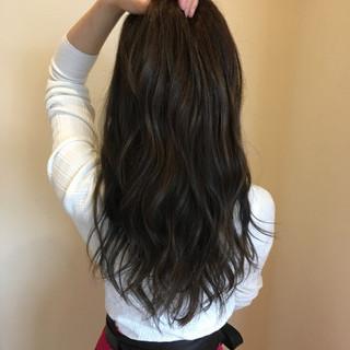 ロング 春 フェミニン 透明感 ヘアスタイルや髪型の写真・画像