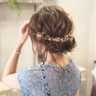 ギブソンタック 花火大会 セミロング お祭り ヘアスタイルや髪型の写真・画像 ヘアスタイルや髪型の写真・画像