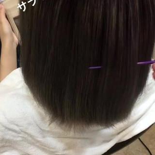 セミロング 透明感 グラデーションカラー 外国人風カラー ヘアスタイルや髪型の写真・画像