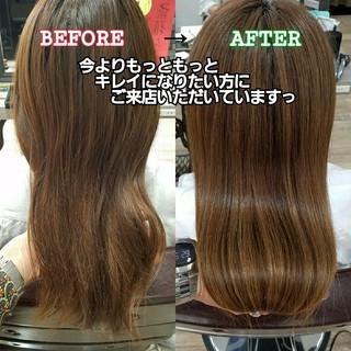 髪の病院 トリートメント 艶髪 ロング ヘアスタイルや髪型の写真・画像