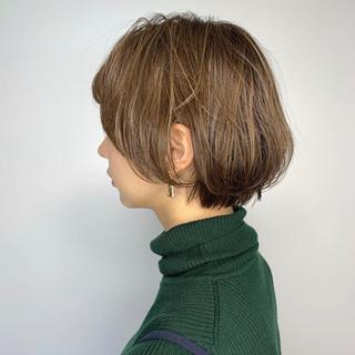 TOKIOトリートメント ショート ベージュ ナチュラル ヘアスタイルや髪型の写真・画像