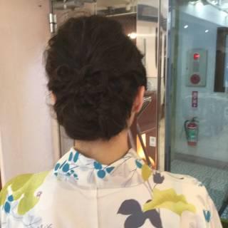 ヘアアレンジ ナチュラル 結婚式 ギブソンタック ヘアスタイルや髪型の写真・画像 ヘアスタイルや髪型の写真・画像