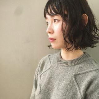 アンニュイ 抜け感 透明感 パーマ ヘアスタイルや髪型の写真・画像