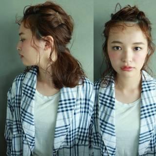春 簡単ヘアアレンジ パンク ショート ヘアスタイルや髪型の写真・画像 ヘアスタイルや髪型の写真・画像