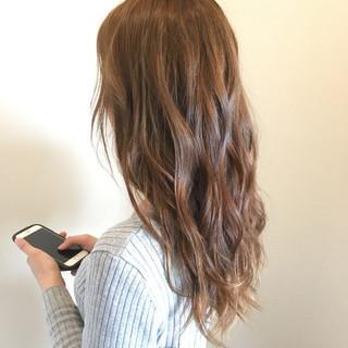 モテ髪 フェミニン 春 外国人風カラー ヘアスタイルや髪型の写真・画像