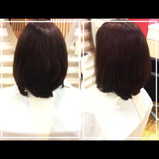 社会人の味方 大人女子 小顔 艶髪 ヘアスタイルや髪型の写真・画像