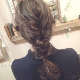 ヘアアレンジ ナチュラル モテ髪 ショート ヘアスタイルや髪型の写真・画像