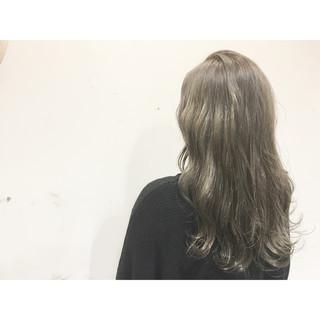 ブラウン 外国人風 ハイライト ストリート ヘアスタイルや髪型の写真・画像