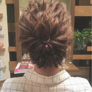大人女子 ゆるふわ ヘアアレンジ ナチュラル ヘアスタイルや髪型の写真・画像