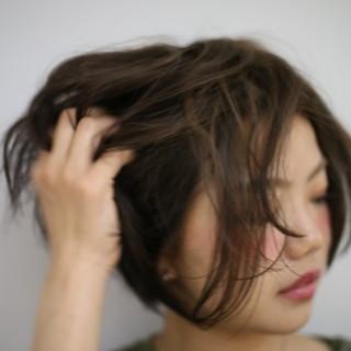 秋 モード 透明感 かわいい ヘアスタイルや髪型の写真・画像