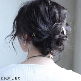 ボブ 女子会 簡単ヘアアレンジ ショート ヘアスタイルや髪型の写真・画像 ヘアスタイルや髪型の写真・画像