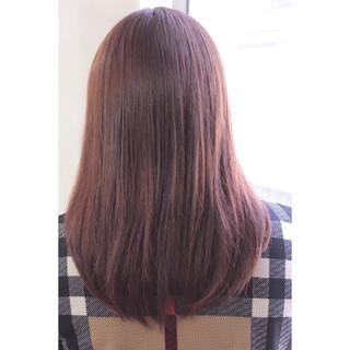ミディアム デート 大人女子 フリンジバング ヘアスタイルや髪型の写真・画像 ヘアスタイルや髪型の写真・画像