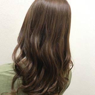 イルミナカラー ナチュラル 透明感 ロング ヘアスタイルや髪型の写真・画像