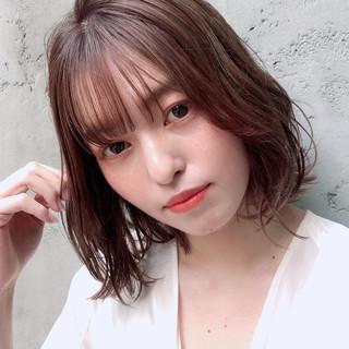 アンニュイほつれヘア デジタルパーマ モテ髪 大人かわいい ヘアスタイルや髪型の写真・画像