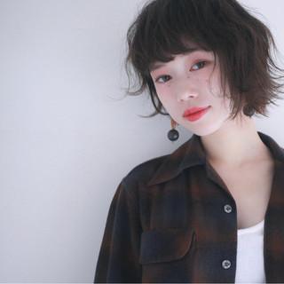 黒髪 パーマ ナチュラル ニュアンス ヘアスタイルや髪型の写真・画像 ヘアスタイルや髪型の写真・画像
