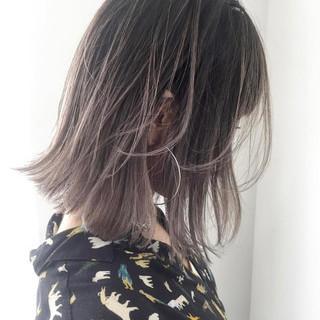 グレージュ ヘアアレンジ アッシュ ストリート ヘアスタイルや髪型の写真・画像 ヘアスタイルや髪型の写真・画像