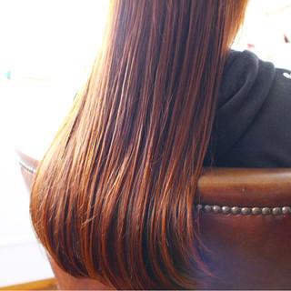 上品 ロング アッシュ トリートメント ヘアスタイルや髪型の写真・画像