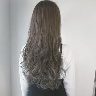外国人風カラー ハイライト ロング 透明感 ヘアスタイルや髪型の写真・画像