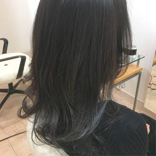 エレガント クールロング クール 上品 ヘアスタイルや髪型の写真・画像
