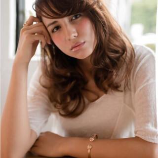 ミディアム コンサバ 大人かわいい アッシュ ヘアスタイルや髪型の写真・画像