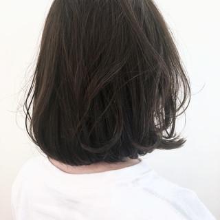 ボブ グレージュ 前髪あり アッシュ ヘアスタイルや髪型の写真・画像