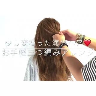 女子会 ロング アウトドア エレガント ヘアスタイルや髪型の写真・画像 ヘアスタイルや髪型の写真・画像