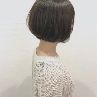 ナチュラル ショートボブ ボブ 大人女子 ヘアスタイルや髪型の写真・画像