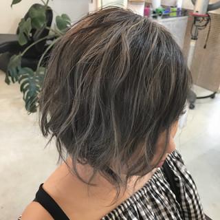 外国人風 外国人風カラー ハイライト 秋 ヘアスタイルや髪型の写真・画像