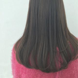 ナチュラル ワンカール ストレート ハイライト ヘアスタイルや髪型の写真・画像 ヘアスタイルや髪型の写真・画像