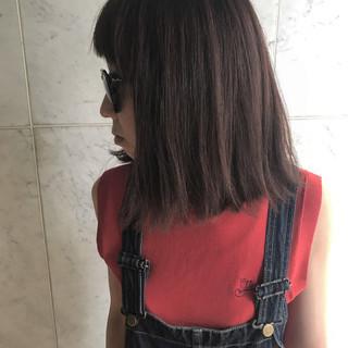 アンニュイ ボブ 秋 ナチュラル ヘアスタイルや髪型の写真・画像