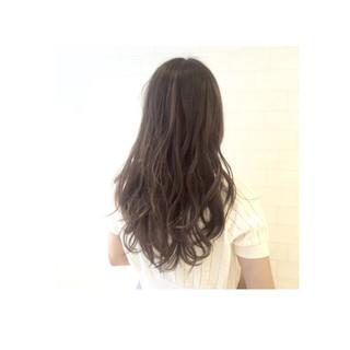 外国人風 ハイライト ゆるふわ フェミニン ヘアスタイルや髪型の写真・画像