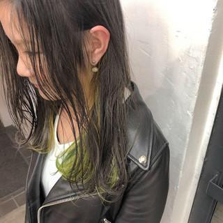 ナチュラル ベージュ 派手髪 ヘアアレンジ ヘアスタイルや髪型の写真・画像