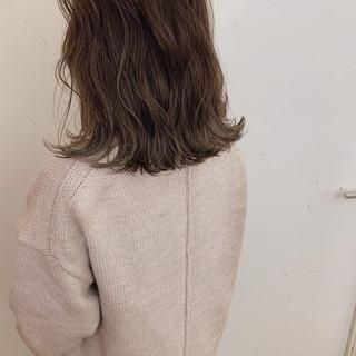 ゆるふわ アンニュイほつれヘア 大人かわいい 切りっぱなしボブ ヘアスタイルや髪型の写真・画像