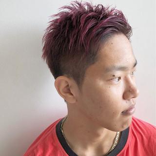モード 個性的 メンズ ベリーショート ヘアスタイルや髪型の写真・画像
