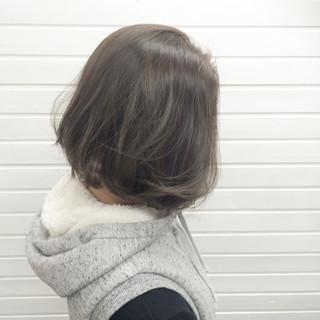 ミルクティーベージュ 透明感 ハイライト 上品 ヘアスタイルや髪型の写真・画像