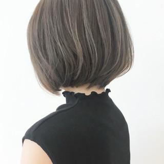 ボブ 大人グラボブ コンサバ 黒髪 ヘアスタイルや髪型の写真・画像 ヘアスタイルや髪型の写真・画像