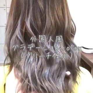 ヘアアレンジ アッシュグレージュ 外国人風カラー ストリート ヘアスタイルや髪型の写真・画像 ヘアスタイルや髪型の写真・画像