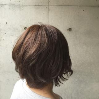 アッシュ 暗髪 ミルクティー イルミナカラー ヘアスタイルや髪型の写真・画像