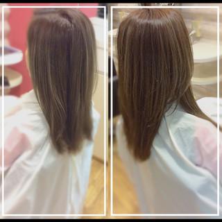艶髪 大人ヘアスタイル 髪質改善 ロング ヘアスタイルや髪型の写真・画像