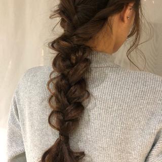 大人女子 ナチュラル ロング ヘアアレンジ ヘアスタイルや髪型の写真・画像