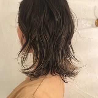 エレガント 外国人風カラー ハイライト 外国人風 ヘアスタイルや髪型の写真・画像